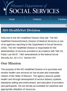 DC Pro is a feature of the MO HealthNet Medicaid program.