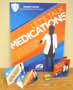 "ASHP's new ""Let's Talk Medications!"" initiative is designed to build awareness of pharmacists' roles in all settings, including ambulatory care."